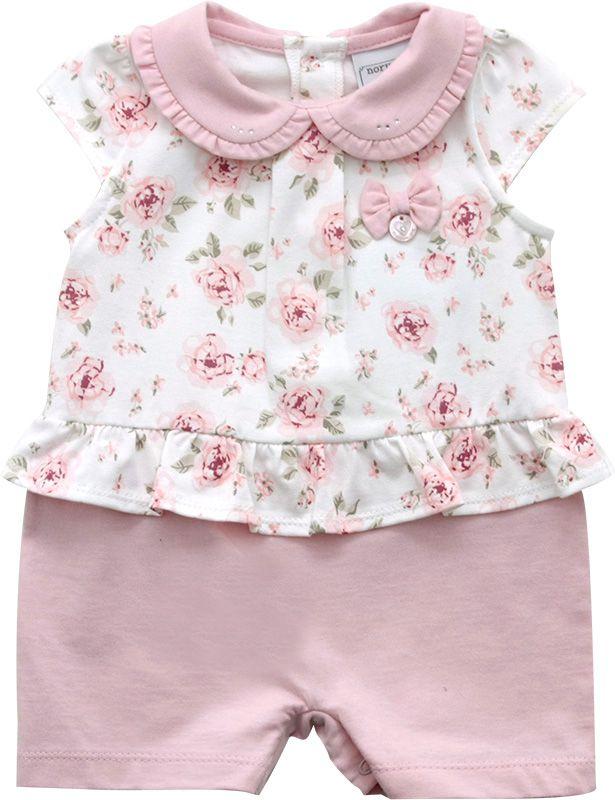 12.0162 - Macacão Curto Cotton Floral