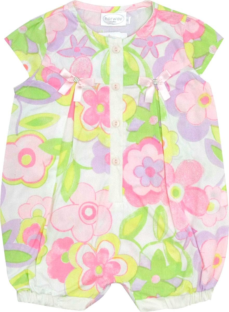 12.0171EX - Macacão com Silk Floral