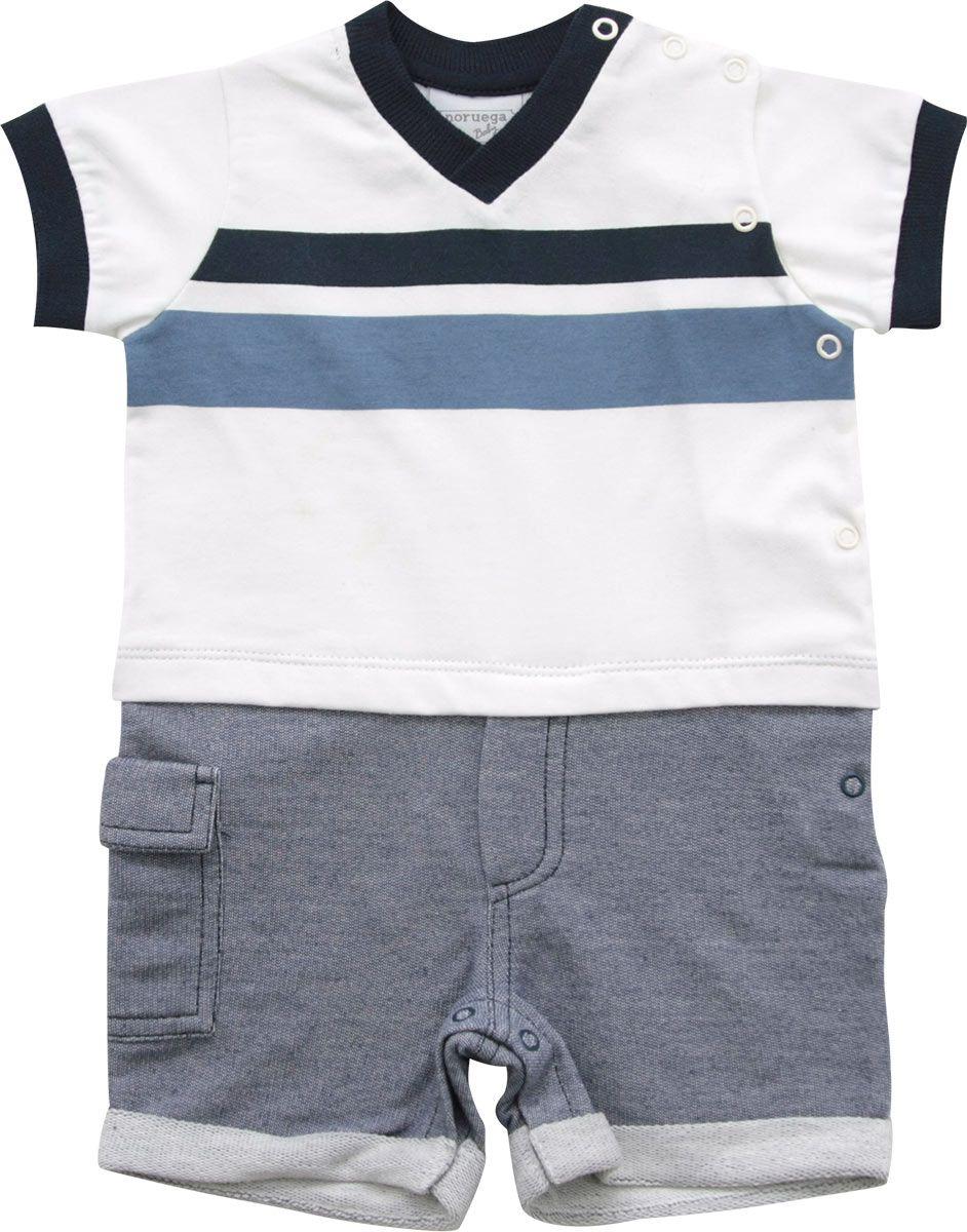 12.0335 - Macacão Malha Jeans