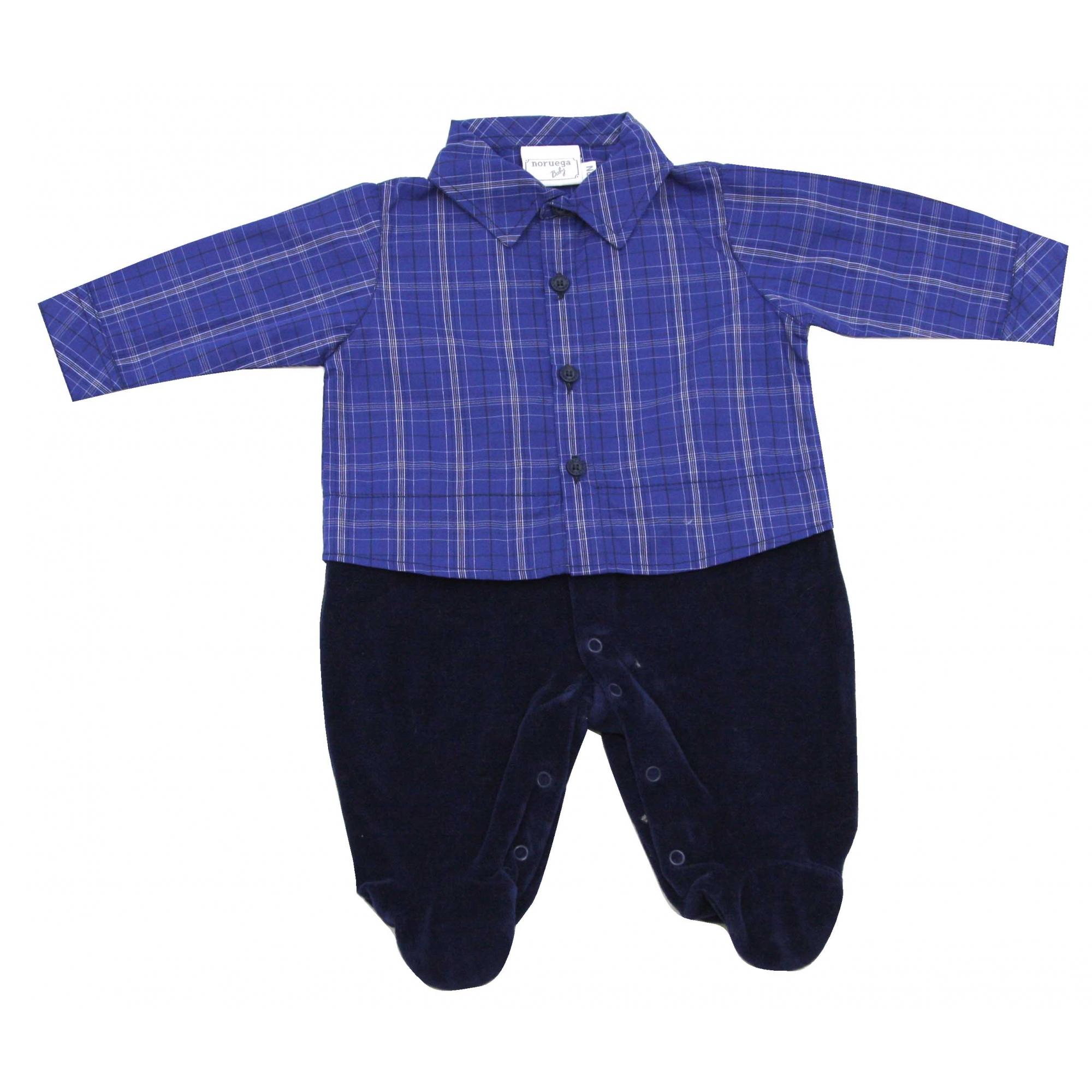 12.0961A - Macacão Camisa Xadrez