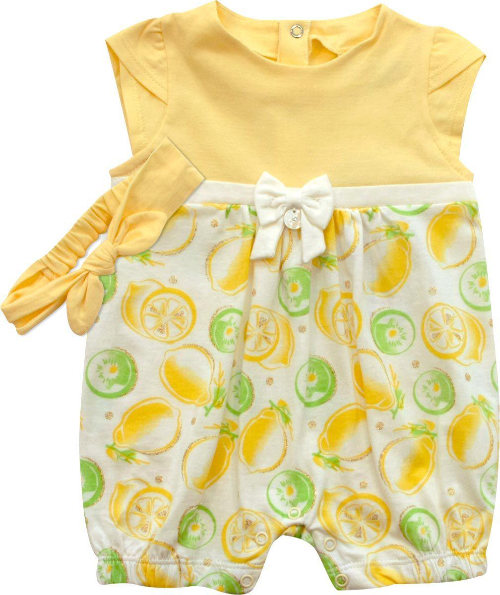 12.903 - Macacão Curto Silk Limões