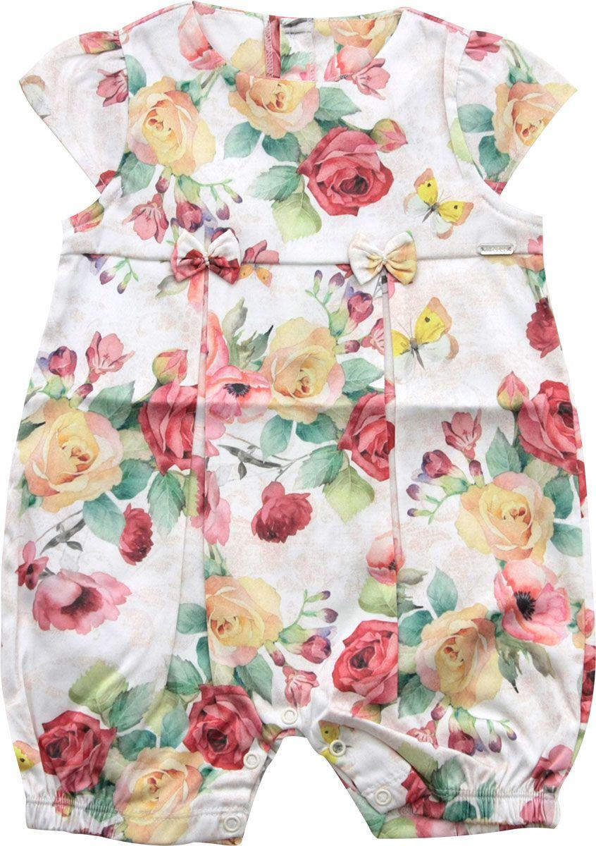 12.905 - Macacão Curto Floral