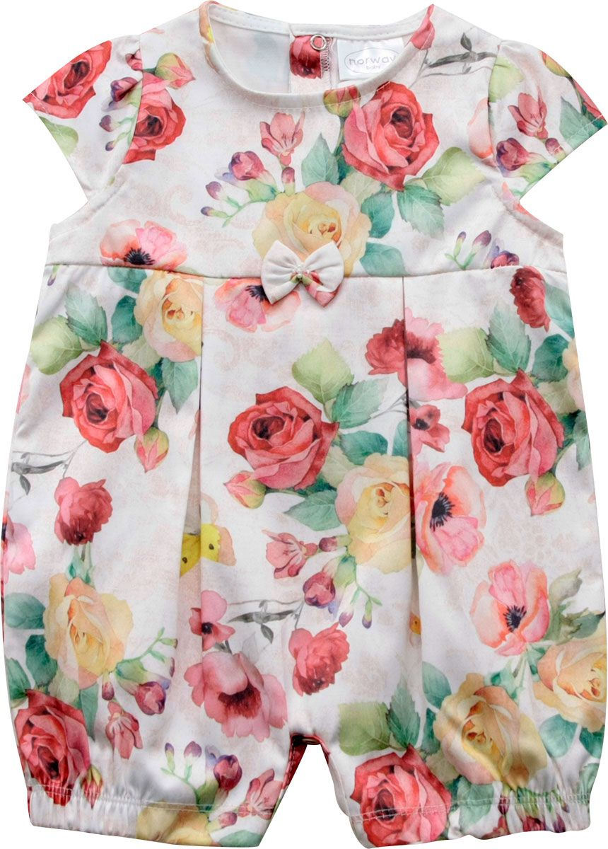 12.905EX - Macacão Curto Estampa Floral