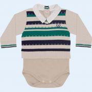 Body Sweater com Listras