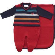 11.610 - Kit Maternidade com Listras