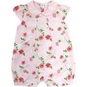 12.0170EX - Macacão Curto com Silk Floral