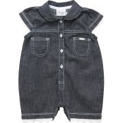 12.0176 - Macacão Curto Jeans
