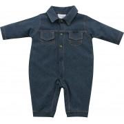 12.0589 - Macacão com Moletinho Jeans