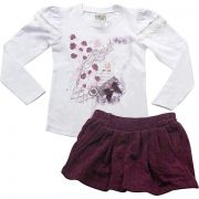 H21.113 - Conjunto Blusa e Short Saia - Have Fun