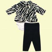 Conjunto Body Zebra