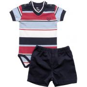 20.534 - Conjunto de Body Cotton Decote V