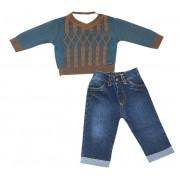 20.653 - Conjunto Body com Sweater em Vanise
