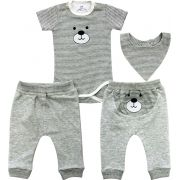 20.704 - Conjunto Body estampa Urso