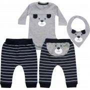 20.728 - Conjunto Body Estampa Cachorro