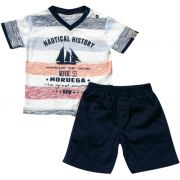 21.531 - Conjunto Camisa Silk Nautical
