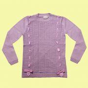 Sweater com 2 Laços