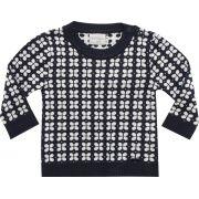 51.245 - Sweater com Jacquard Flores