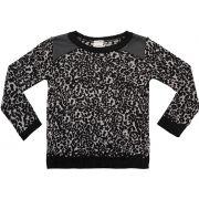 51.246 - Sweater Onça com Couro