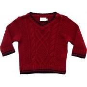 51.251 - Sweater com Tranças e Aran