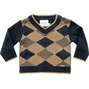 51.293 - Sweater com Losangos