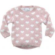 51.306 - Sweater Jacquard Coração
