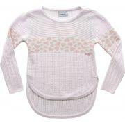 51.316 - Sweater com Jacquard Oncinha