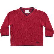51.323 - Sweater com Ponto Triângulo