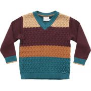 51.327 - Sweater com Ponto Cruzado