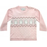 51.344 - Sweater com Jacquard Pinguim