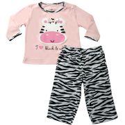 61.007 - Conjunto Pijama Zebrinha