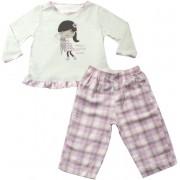 61.010 - Conjunto Pijama Silk Menina e Gatinho