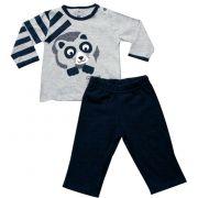 61.014 - Conjunto Pijama Silk Guaxinim