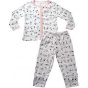 61.017 - Conjunto Pijama Silk Cachorrinhos