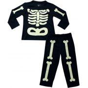61.022 - Conjunto Pijama Silk Esqueleto