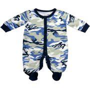 61.035 - Pijama Macacão Silk Camuflado