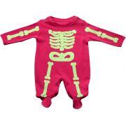 61.042 - Pijama Macacão Silk Esqueleto
