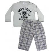 61.027EX - Conjunto Pijama c/ Xadrez