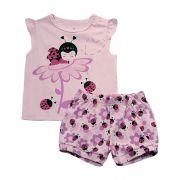 62.180 - Conjunto Pijama Silk Joaninha