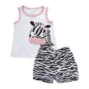 62.182 - Conjunto Pijama Silk Zebra