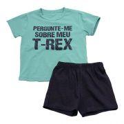 62.201 - Conjunto Pijama Silk T Rex