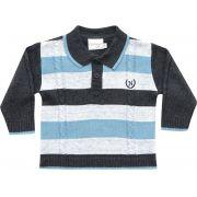 81.257 - Camisa Polo Listras e Tranças