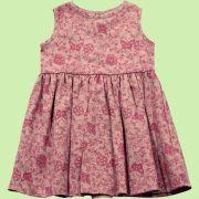 Vestido Floral Filetado