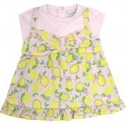90.322 - Vestido c/ Silk Limão
