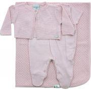 AE11.028 - Kit Maternidade Casaco Trabalhado