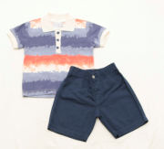 AE21.012 - Conjunto Camisa Polo Listrada