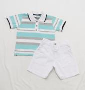 AE21.015 - Conjunto Camisa Polo Listrada