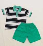AE21.016 - Conjunto Camisa Polo Listrada