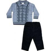 AE21.058 -  Conjunto Camisa Polo com Vanise