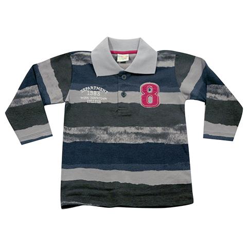 H51.084 - Camisa Polo Manga Longa - Have Fun