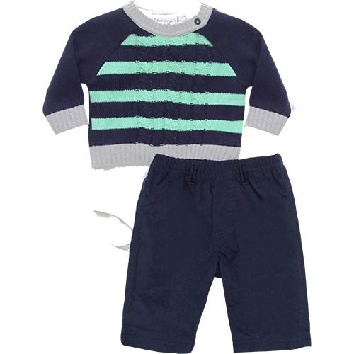 20.501  - Conjunto Body Sweater Listrado